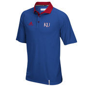 Men's adidas Royal Kansas Jayhawks climachill Polo