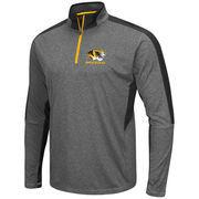Men's Colosseum Charcoal Missouri Tigers Atlas Quarter-Zip Jacket