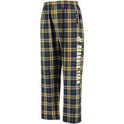 Georgia Tech Yellow Jackets  Classic Flannel Pants - Navy Blue/Gold