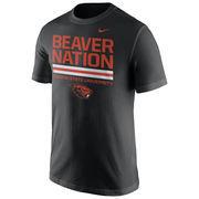 Men's Nike Black Oregon State Beavers Local Verbiage T-Shirt