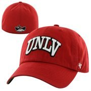 UNLV Rebels Franchise Fitted Hat - Red