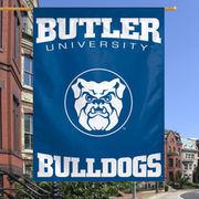 Butler Bulldogs 27'' x 37'' Vertical Banner One-Sided Flag - Navy Blue