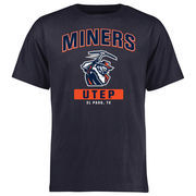 Men's Navy UTEP Miners Big & Tall Campus Icon T-Shirt