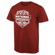 Men's Crimson Alabama Crimson Tide College Football Playoff 2015 National Champions Official T-Shirt