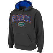 Men's Stadium Athletic Charcoal Florida Gators Arch & Logo Pullover Hoodie