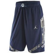 Men's Nike Navy Georgetown Hoyas Replica On-Court Basketball Shorts
