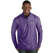 Men's Antigua Purple Northwestern Wildcats Tempo 1/2-Zip Desert Dry Pullover Jacket