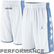 Nike North Carolina Tar Heels (UNC) Authentic Basketball Performance Shorts - White