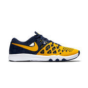 Men's Nike Navy Michigan Wolverines Train Speed 4 Week Zero College Collection Shoes