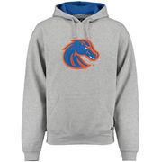 Boise State Broncos Gray Twill Mascot Hooded Sweatshirt