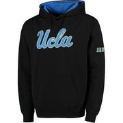 Men's Stadium Athletic Black UCLA Bruins Big Logo Pullover Hoodie