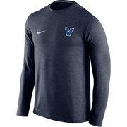Men's Nike Navy Villanova Wildcats Touch Long Sleeve Performance T-Shirt