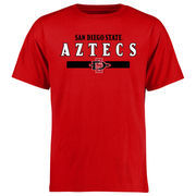 Men's Red San Diego State Aztecs Team Strong T-Shirt