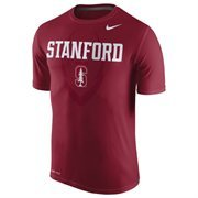 Men's Nike Cardinal Stanford Cardinal Legend Football Icon T-Shirt
