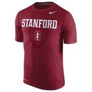 Men's Nike Cardinal Stanford Cardinal Legend Football Icon T-Shirt