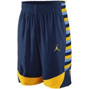 Men's Nike Navy Marquette Golden Eagles Replica On-Court Basketball Shorts