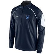Men's Nike Navy Villanova Wildcats Coaches Fly Rush Jacket