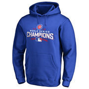 Men's Royal Chicago Cubs 2016 World Series Champions Walk Pullover Hoodie