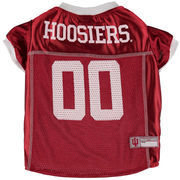 Indiana Hoosiers Mesh Dog Football Jersey