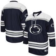 Men's Colosseum Navy Penn State Nittany Lions Hockey Jersey
