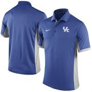 Men's Nike Royal Kentucky Wildcats Team Issue Performance Polo
