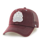 Men's '47 Brand Maroon Montana Grizzlies Flexbone Closer Flex Hat