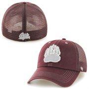 Men's '47 Brand Maroon Montana Grizzlies Flexbone Closer Flex Hat