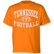 Tennessee Volunteers Reversal Football T-Shirt - Tennessee Orange