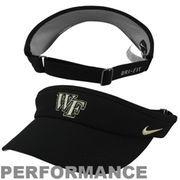 Wake Forest Demon Deacons Dri-FIT Adjustable Performance Visor - Black