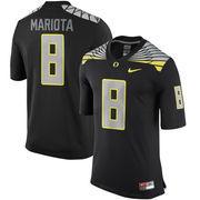 Men's Nike Marcus Mariota Black Oregon Ducks Alumni Football Game Jersey