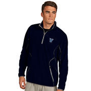 Men's Antigua Navy Villanova Wildcats Ice Quarter-Zip Pullover Jacket
