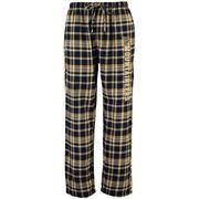 Men's Concepts Sports Navy West Virginia Mountaineers Bleacher Flannel Pants