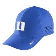 Youth Nike Royal Duke Blue Devils Sideline Coaches Adjustable Hat