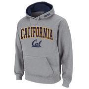 Men's Stadium Athletic Gray Cal Bears Arch & Logo Pullover Hoodie
