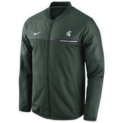 Men's Nike Green Michigan State Spartans 2016 Sideline Elite Hybrid Performance Jacket