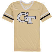 Girls Youth Colosseum Gold Georgia Tech Yellow Jackets Titanium T-Shirt