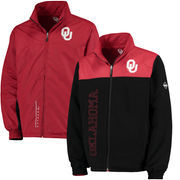 Men's Crimson Oklahoma Sooners Alpine Reversible Jacket