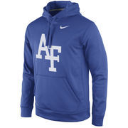 Men's Nike Royal Air Force Falcons Practice Performance Hoodie