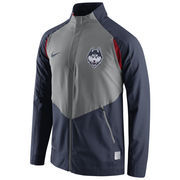 Men's Nike Navy UConn Huskies 2015-2016 On-Court HyperElite Dri-FIT Game Jacket