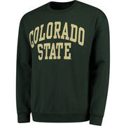 Men's Fanatics Branded Green Colorado State Rams Basic Arch Sweatshirt