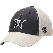 Men's Top of the World Black/Gold Vanderbilt Commodores Offroad Trucker Hat