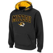 Men's Stadium Athletic Charcoal Missouri Tigers Arch & Logo Pullover Hoodie