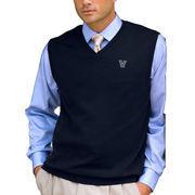 Men's Navy Villanova Wildcats Milano Knit Sweater Vest