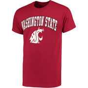 Men's Fanatics Branded Crimson Washington State Cougars Campus T-Shirt