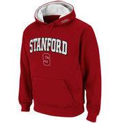 Mens Stanford Cardinal Cardinal Classic Arch Logo Twill Hoodie