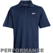 Mens UTEP Miners Cutter & Buck Navy Blue DryTec Championship Polo