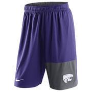 Men's Nike Purple Kansas State Wildcats Dri-FIT Fly Shorts