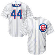Men's Majestic Anthony Rizzo White Chicago Cubs Cool Base Player Jersey