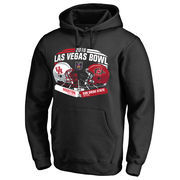 Men's Fanatics Branded Black San Diego State Aztecs vs. Houston Cougars 2016 Las Vegas Bowl Motion Matchup Pullover Hoodie