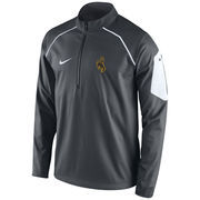 Men's Nike White Wyoming Cowboys Coaches Fly Rush Jacket